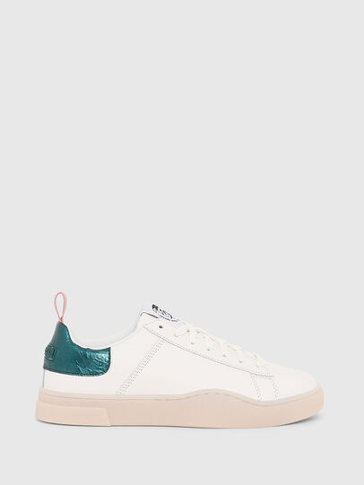 Diesel - S-CLEVER LOW LACE W, Blanc/Vert - Baskets - Image 1