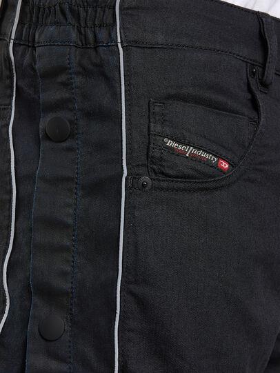 Diesel - Krooley JoggJeans 0KAYO, Noir/Gris foncé - Jeans - Image 3