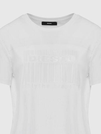 Diesel - D-FELIX-LONG-E1, Blanc - Robes - Image 4