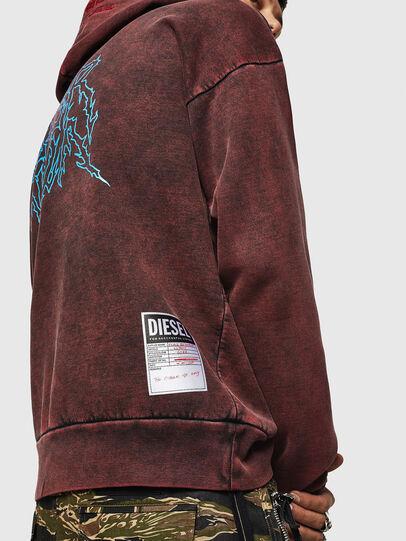 Diesel - S-ALBY-ACID, Bordeaux - Pull Cotton - Image 7