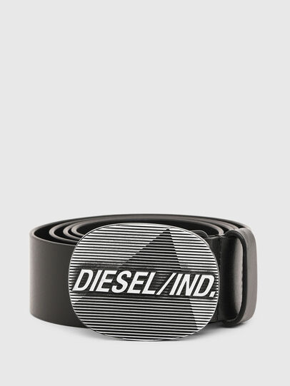 Diesel - B-DIELIND, Noir - Ceintures - Image 1