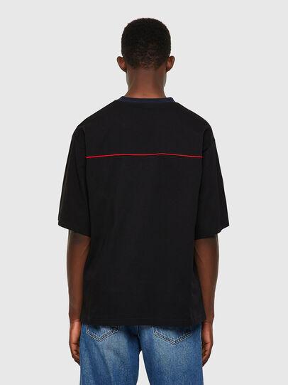 Diesel - T-DELPHIVY-SLITS, Noir - T-Shirts - Image 2