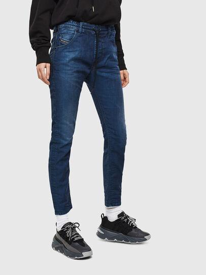 Diesel - Krailey JoggJeans 069KM, Bleu Foncé - Jeans - Image 1