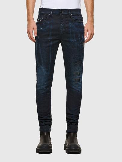 Diesel - D-REEFT JoggJeans® 069RB, Bleu Foncé - Jeans - Image 1