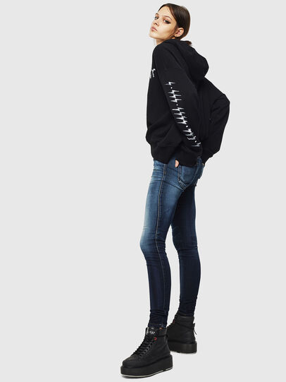 Diesel - Gracey JoggJeans 069JX, Bleu Foncé - Jeans - Image 5