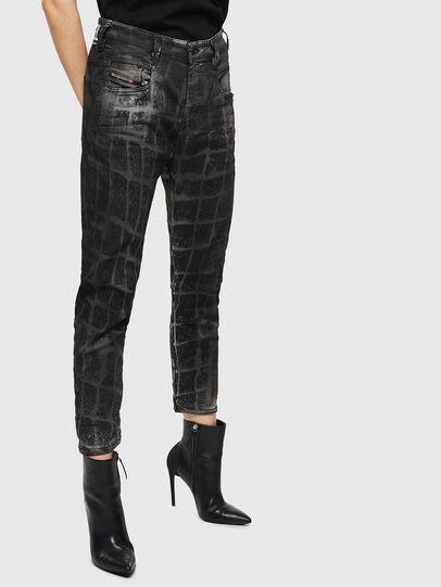 Diesel - Fayza JoggJeans 0094M, Noir/Gris foncé - Jeans - Image 6