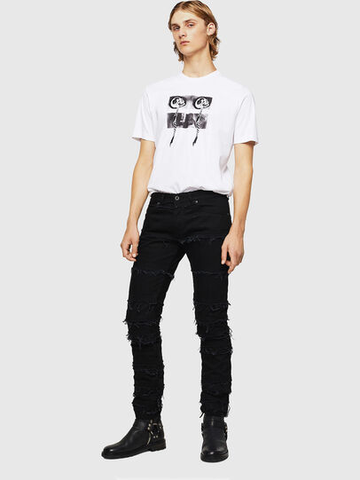 Diesel - TY-X1, Blanc - T-Shirts - Image 5