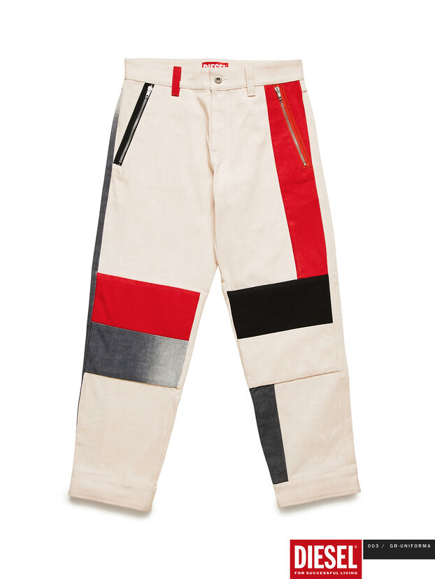 GR02-P301-P, Blanc - Pantalons