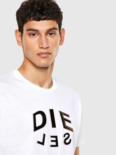 Diesel - T-DIEGOS-A1, Blanc - T-Shirts - Image 3