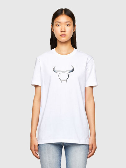 Diesel - CL-T-DIEGOS-O2, Blanc - T-Shirts - Image 2