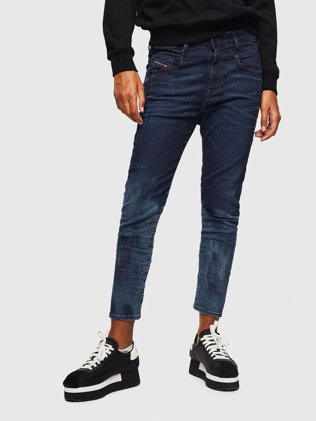 Fayza JoggJeans 069KC, Bleu Foncé - Jeans