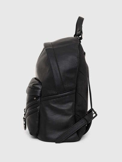 Diesel - LE-ZIPPER BACKPACK, Noir - Sacs à dos - Image 3