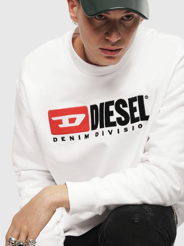 S-CREW-DIVISION, White - Sweatshirts
