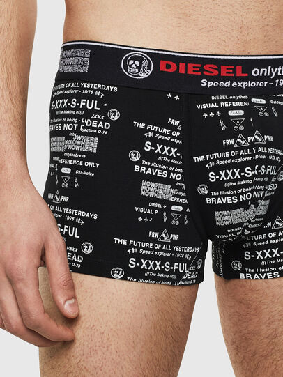 Diesel - UMBX-DAMIENTHREEPACK, Noir/Blanc - Boxeurs courts - Image 4