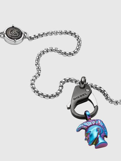 Diesel - DX1280, Silver - Necklaces - Image 2
