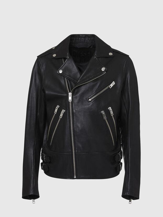 L-GARRETT, Noir - Vestes de cuir