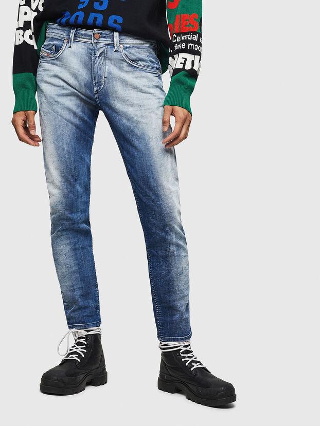 Thommer JoggJeans 0870N, Bleu moyen - Jeans