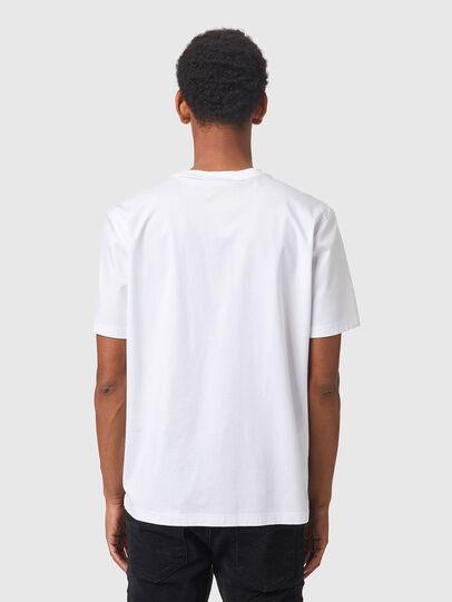 Diesel - T-HAIM, White - T-Shirts - Image 2
