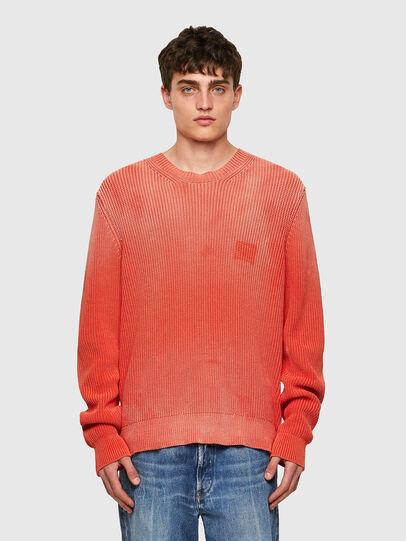 Diesel - K-KENTUCKY, Orange - Sweaters - Image 1