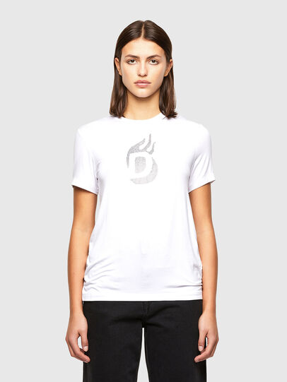 Diesel - T-SILY-R1, Blanc - T-Shirts - Image 1