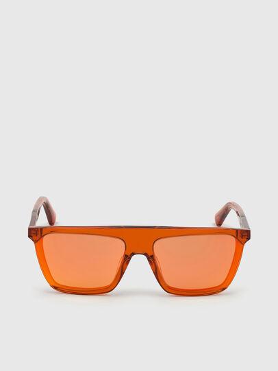 Diesel - DL0323, Orange - Lunettes de soleil - Image 1