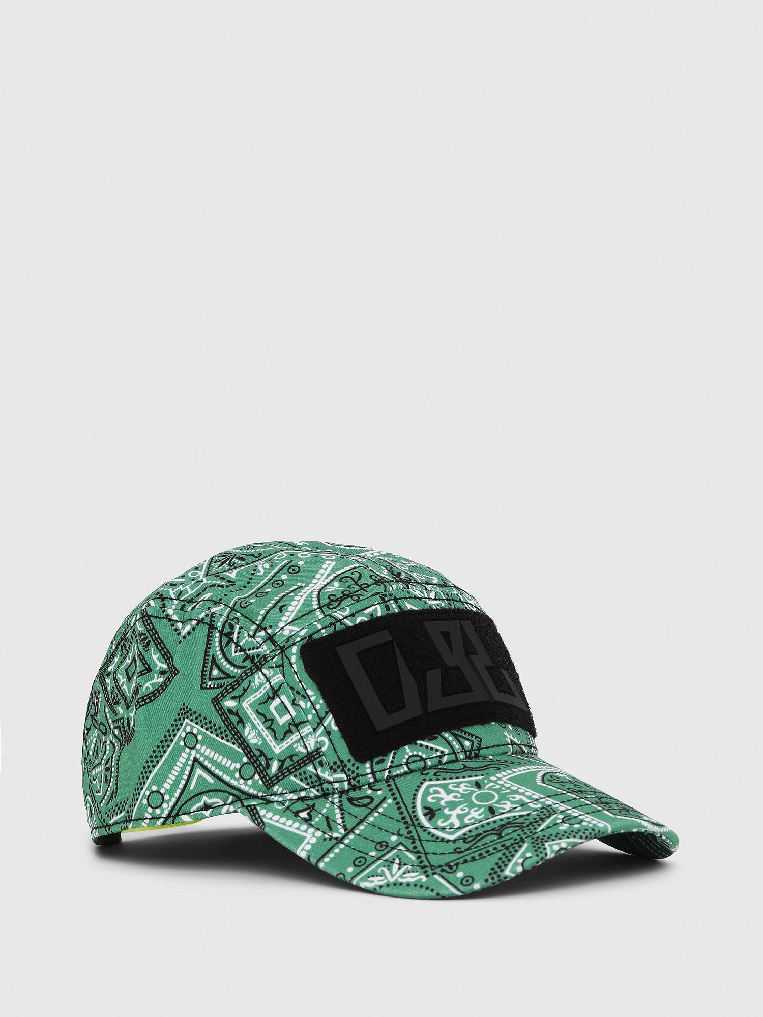 C-SARO: Bandana-print baseball cap in cotton | Diesel
