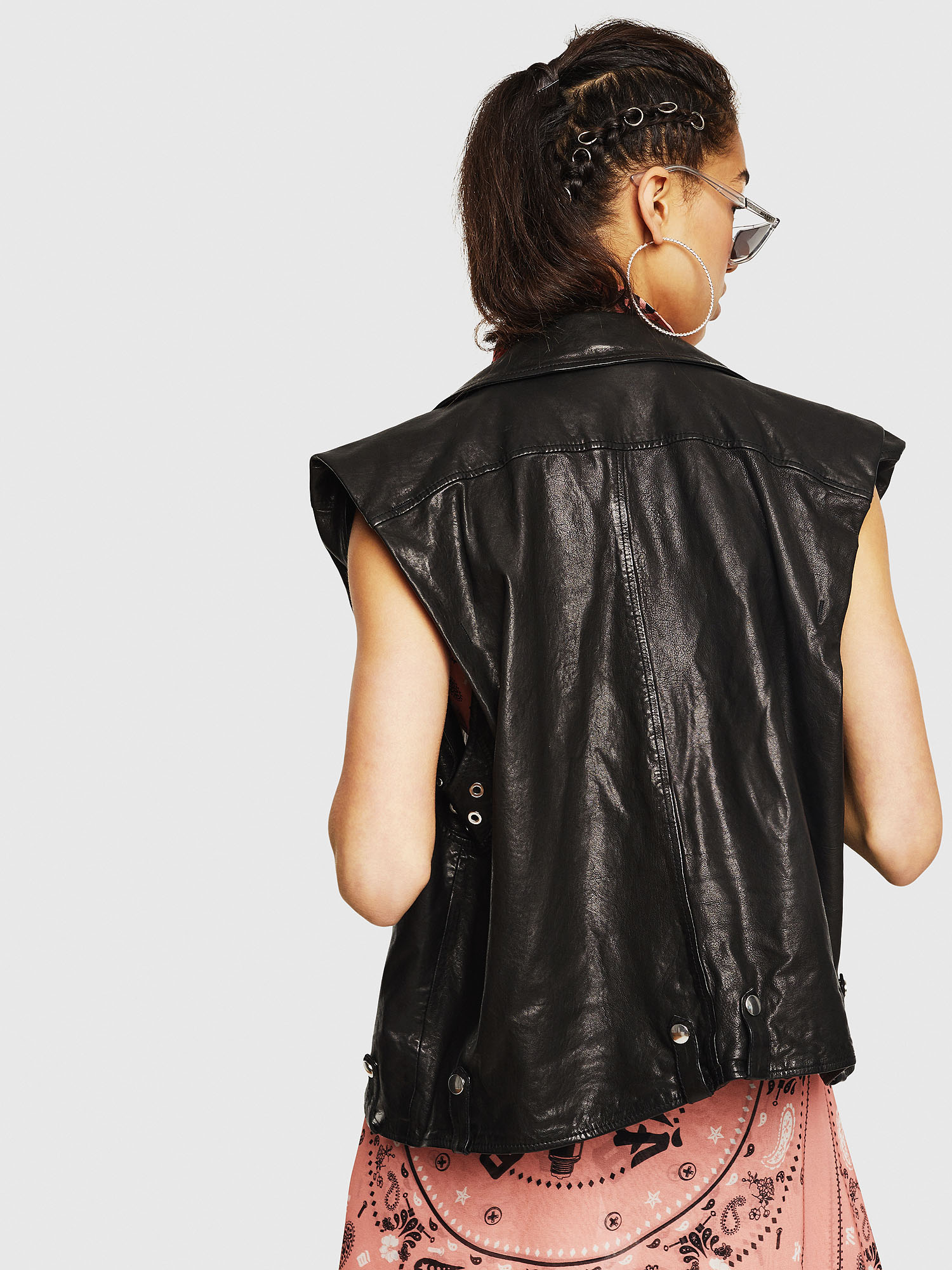 Diesel - L-DROPPET,  - Leather jackets - Image 2